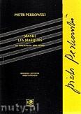 Okładka: Perkowski Piotr, Maski na fortepian