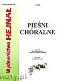 Ok�adka: Chamski ks. Hieronim, Pie�ni ch�ralne