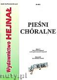 Okładka: Chamski ks. Hieronim, Pieśni chóralne