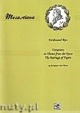 Okładka: Ries Ferdinand, Wariacje na tematy z opery  Wesela Figara na fortepian