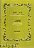 Ok�adka: Szczepanowski Stanis�aw, Aguilar Emanuel, Grand duo concertant na wiolonczel� i fortepian