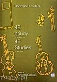 Okładka: Kreutzer Rodolphe, 42 etiudy na skrzypce solo