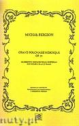 Okładka: Bergson Michał, Grand polonaise heroique op.72 na skrzypce (wiolonczelę) i fortepian