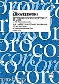 Okładka: Łukaszewski Paweł, Ostatni list Świętego Maksymiliana do matki na chór mieszany a cappella- partytura