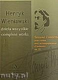 Ok�adka: Wieniawski Henryk, II koncert skrzypcowy pour violon avec accompagnement d'orchestre op.22
