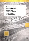 Ok�adka: Bacewicz Gra�yna, Humoreska na skrzypce i fortepian