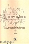 Okładka: Gawroński Wojciech, Utwory wybrane na fortepian vol. 1