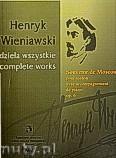 Ok�adka: Wieniawski Henryk, Souvenir de  Moscou pour violon avec accompaniament de piano op. 6 seria  A tom 14