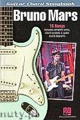 Ok�adka: , Bruno Mars - Guitar Chord Songbook