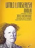 Okładka: Lutosławski Witold, Bukoliki - transkrypcja na trzy akordeony