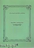 Okładka: Szczepanowski Stanisław, Melody. Novelette na klarnet i fortepian