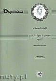 Okładka: Wolff Edward, Grand Allegro de Concert op. 39 na fortepian