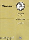Okładka: Bergson Michał, Kątski Karol, Grand duo dramatique sur Les Noces de Figaro na skrzypce i fortepian