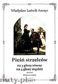 Okładka: Sołtysik Włodzimierz, Pieśń strzelców