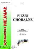 Okładka: Chamski ks. Hieronim, Pieśni chóralne z. 18. Zbiór pieśni religijnych na dwa głosy mieszane z organami.