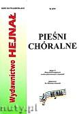 Okładka: Chamski ks. Hieronim, Pieśni chóralne zeszyt 15. Zbiór pieśni religijnych na dwa głosy mieszane z organami.