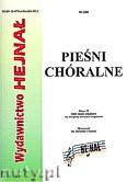 Okładka: Chamski ks. Hieronim, Pieśni Chóralne zeszyt 16