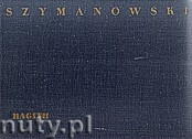 Okładka: , Szymanowski K.;Hagith-opera w jednym akcie op.25 Dz.t.22 - part.