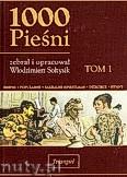 Okładka: Sołtysik Włodzimierz, 1000 pieśni, t. 1, antologia