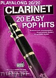 Okładka: Hussey Christopher, Playalong 20/20 Clarinet: 20 Easy Pop Hits