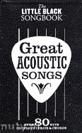 Okładka: , The Little Black Songbook: Great Acoustic Songs