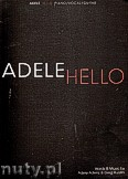 Okładka: Adele, Hello - Adele