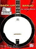 Okładka: Davis Janet, Back-Up Banjo (Book/Online Audio)