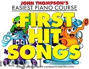 Okładka: Thompson John,  Easiest Piano Course: First Hit Songs