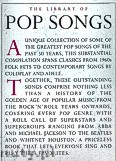 Ok�adka: , The Library Of Pop Songs