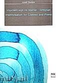 Okładka: Świder Józef, Improwizacja na klarnet i fortepian