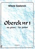 Okładka: Szalonek Witold, Oberek nr 1 na gitarę