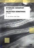 Okładka: Hoffman Jan, Rieger Adam, Wybrane sonatiny z. 1