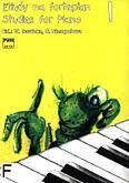 Okładka: Sawicka Wiera, Stempień Gabriela, Etiudy na fortepian, z. 1