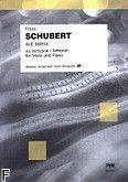 Okładka: Schubert Franz, Ave Maria na skrzypce i fortepian