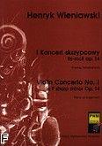 Okładka: Wieniawski Henryk, I Koncert skrzypcowy fis-moll op. 14