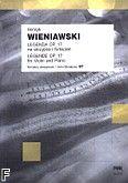 Okładka: Wieniawski Henryk, Legenda op. 17 na skrzypce i fortepian