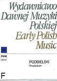 Okładka: Podbielski J., Praeludium per organum vel clavicymbalum