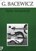 Okładka: Bacewicz Grażyna, Taniec mazowiecki