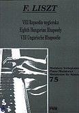 Okładka: Liszt Franz, VIII Rapsodia węgierska