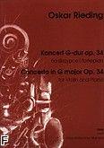 Okładka: Rieding Oskar, Koncert G-dur op. 34 (wyciąg fortepianowy)