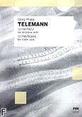 Okładka: Telemann Georg Philipp, 12 fantazji na skrzypce solo