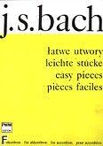 Okładka: Bach Johann Sebastian, Łatwe utwory