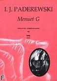 Okładka: Paderewski Ignacy Jan, Menuet G-dur