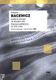 Okładka: Bacewicz Grażyna, Kaprys polski na skrzypce solo