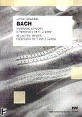 Okładka: Bach Johann Sebastian, Wybrane utwory w transkrypcji na 1 i 2 gitary