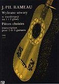 Okładka: Rameau Jean-Philippe, Wybrane utwory w transkrypcji na 1 i 2 gitary