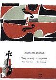 Okładka: Jahnke Zdzisław, 3 utwory skrzypcowe