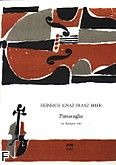 Okładka: Biber Heinrich Ignaz Franz von, Passacaglia na skrzypce solo