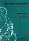 Okładka: Twardowski Romuald, Allegro rustico na obój i fortepian