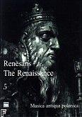 Okładka: Poźniak Piotr, Renesans 5 - Muzyka instrumentalna: Muzyka lutniowa
